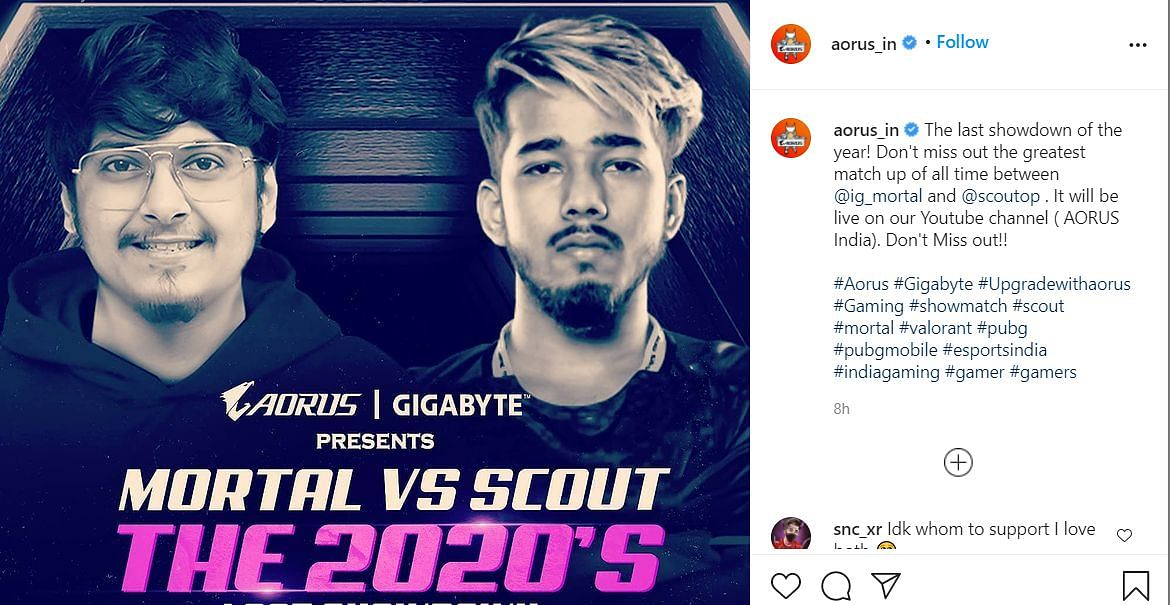 MortaL and ScoutOP Will Fight It Out In 2020's Last Showdown
