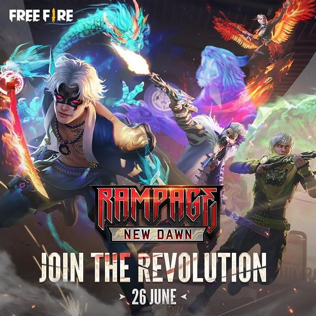 Free Fire All Upcoming Events in June 2021: Dates, Rewards, Detailed Information