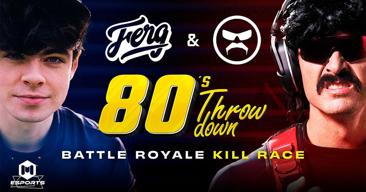 COD Mobile Announced 80's Throwdown Battle Royale Kill Race Event Featuring  Dr. Disrespect and iFerg