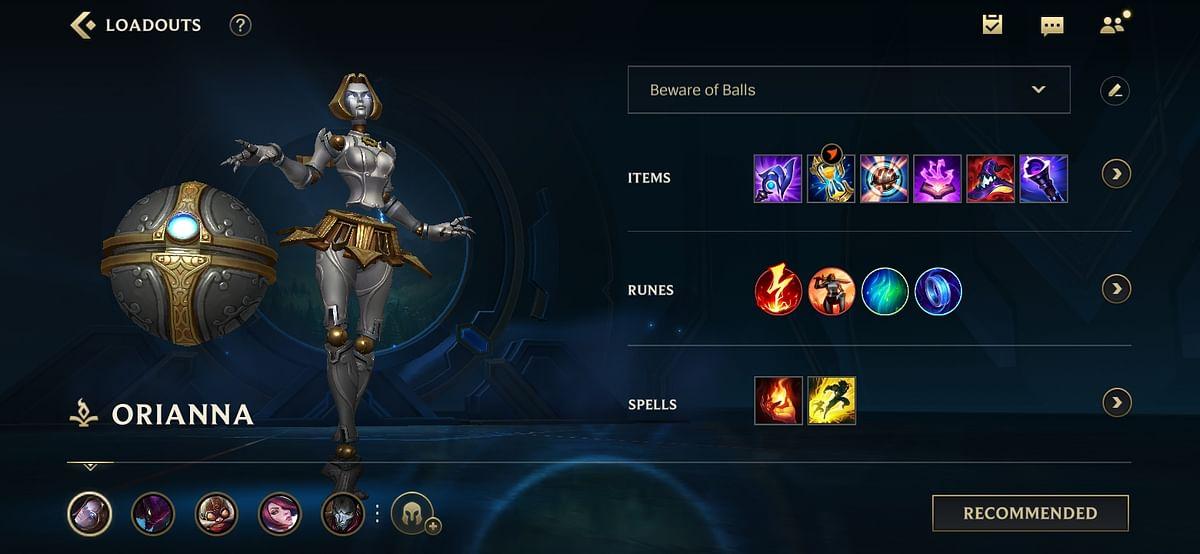 Wild Rift Orianna Build: Abilities, Items, and Runes