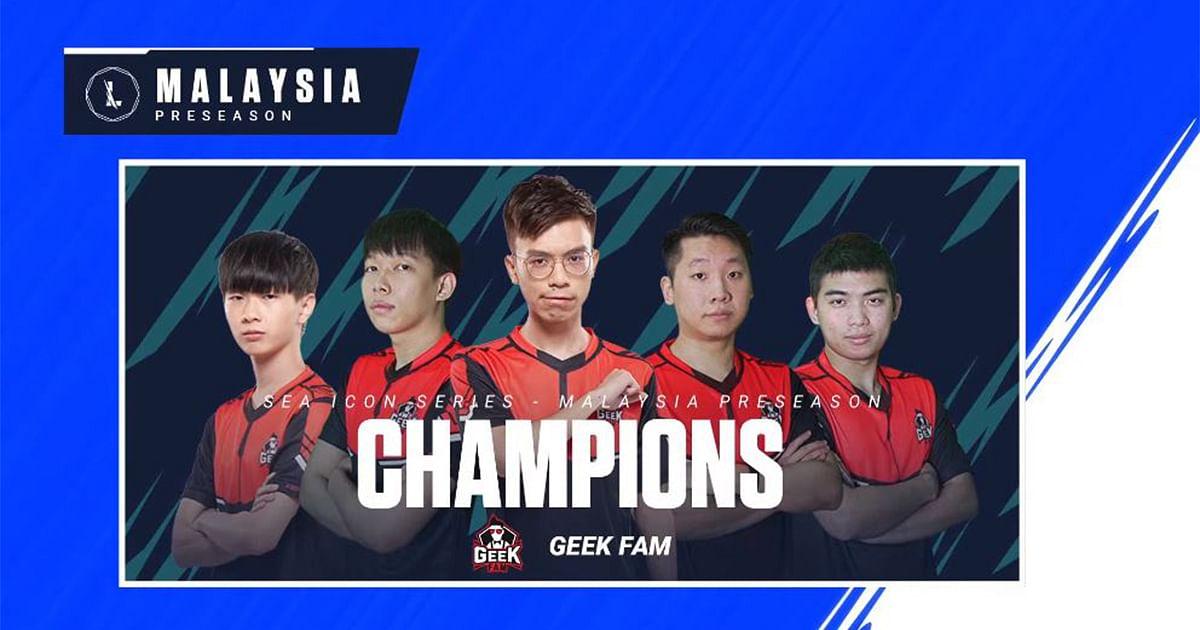 Geek Fam Wins the Wild Rift SEA Icon Series: Preseason - Malaysia