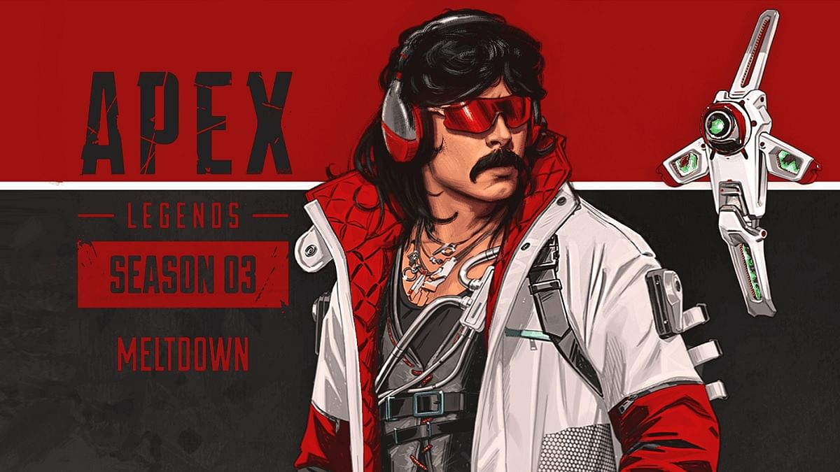 Dr Disrespect Does Not Want to Play Apex Legends on Youtube Anymore