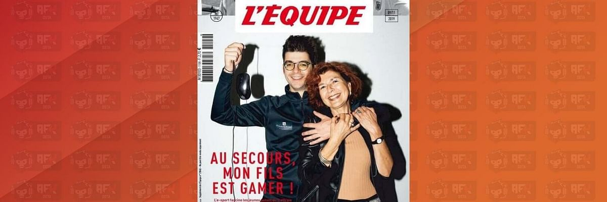 Ceb Just got Featured on the Cover of L'Équipe, The Biggest French Sports Magazine