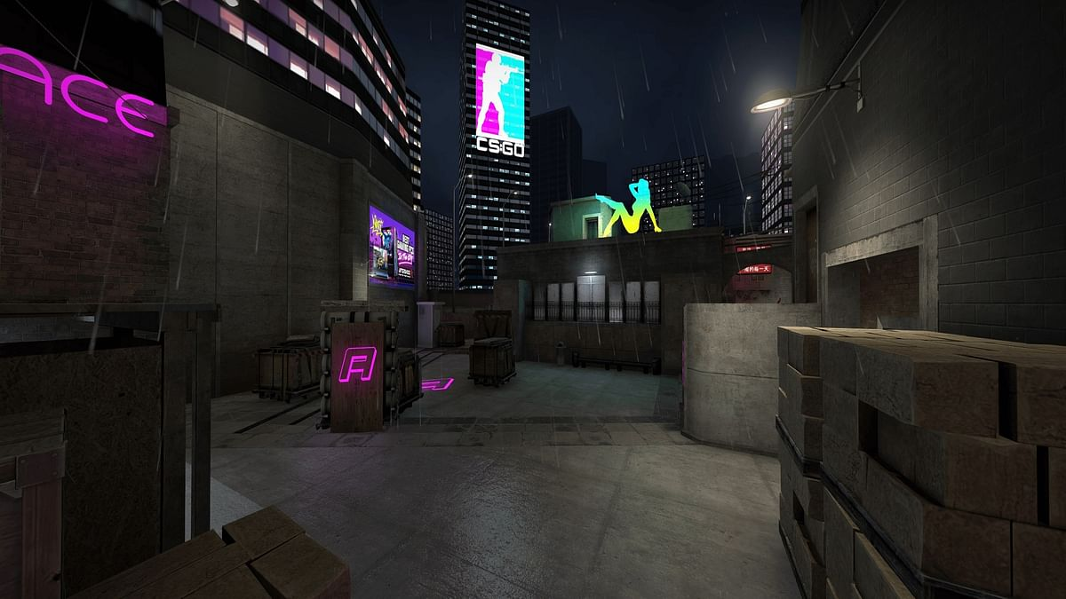 CS:GO Map Creator Designs Cyberpunk 2077 Version of Mirage