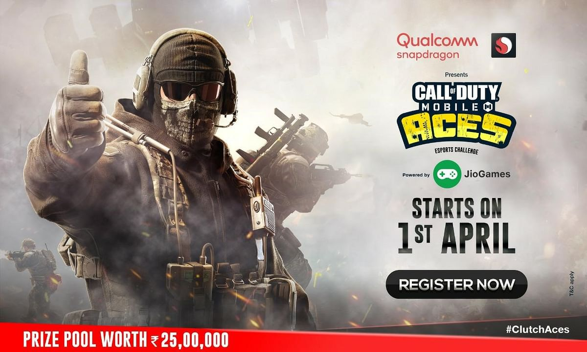 Jio Partners with Qualcomm to Present INR 25,00,000 Call of Duty Mobile Aces Esports Challenge