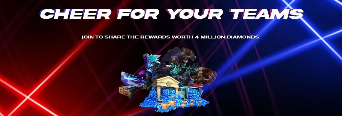 MSC 2021: Cheer for Your Team Event, How to Win Free ML Skins