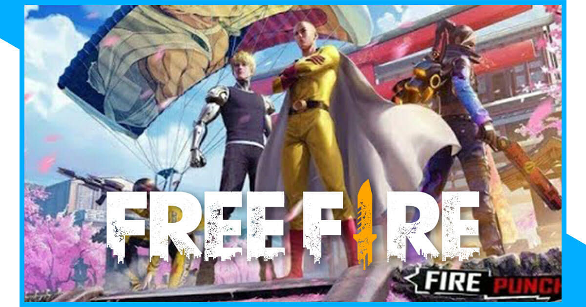 Free Fire Collaborates With One Punch Man
