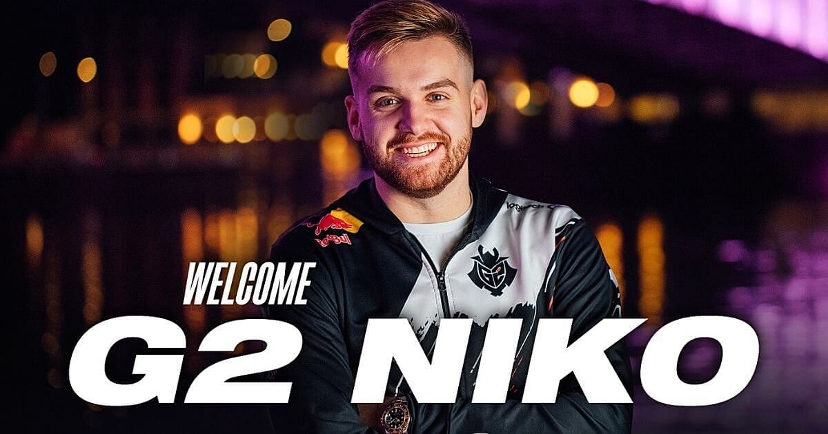G2 Esports Officially Announce Signing NiKo From FaZe Clan