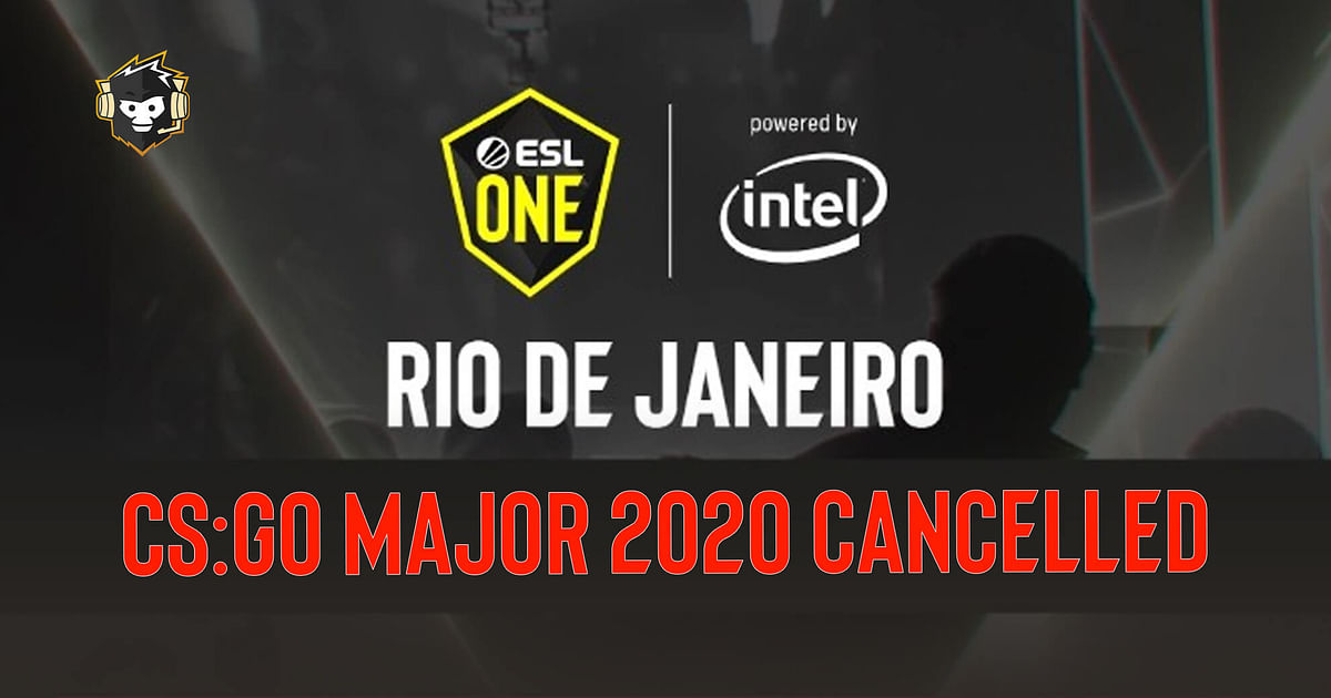 ESL One Rio Major 2020 Cancelled Due to COVID-19 Pandemic