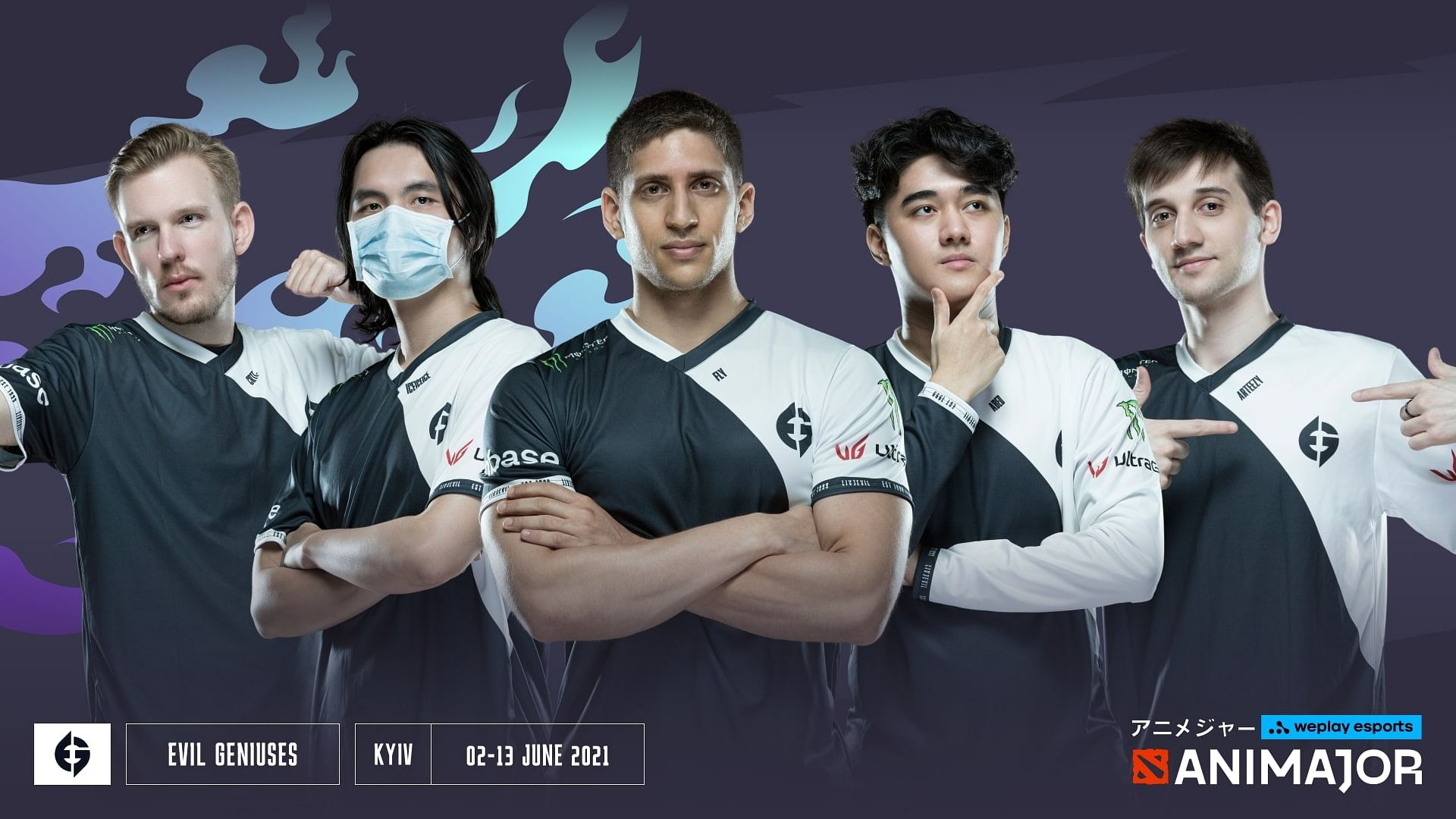 Psg Lgd Clean Sweeps Evil Geniuses To Become The Weplay Animajor Champions