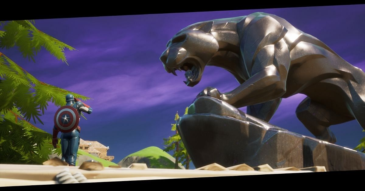 Black Panther Tribute Appears in Fortnite As Map Location