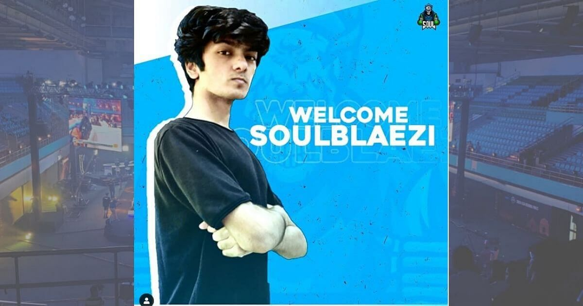 Blaezi Joins SouL For Upcoming Season