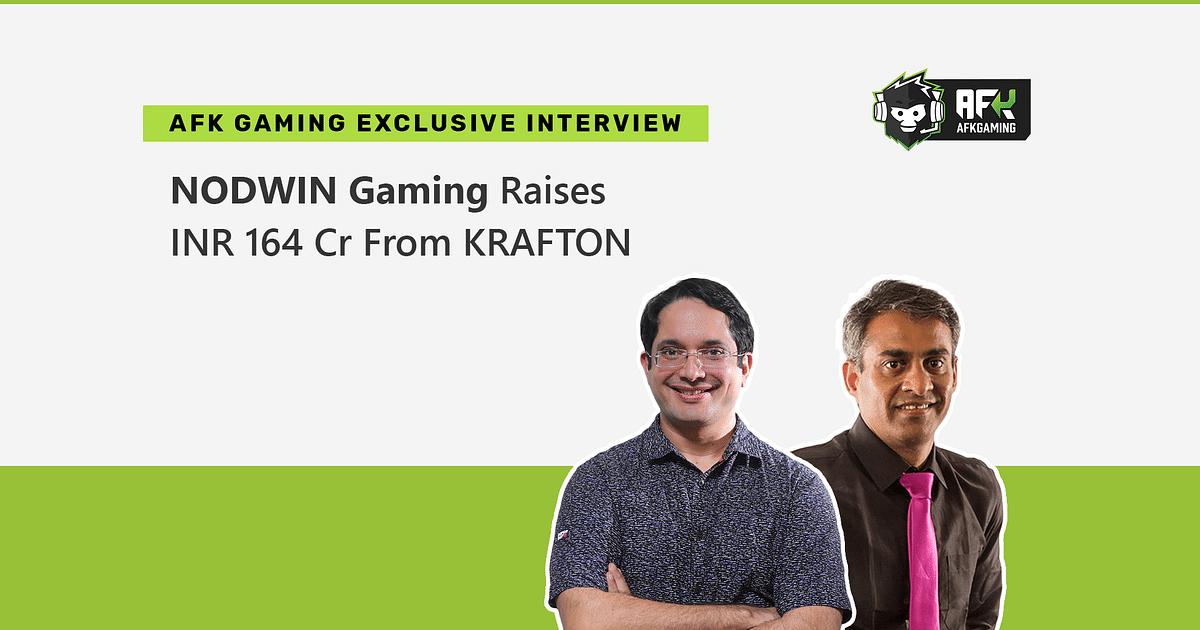NODWIN Gaming Raises INR 164 Crore Investment From KRAFTON