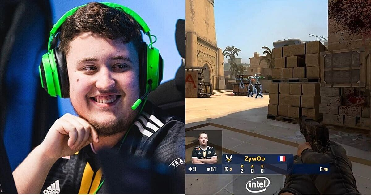 [Watch] ZywOo Takes an Impossible 9 HP Pistol Ace Against Na'Vi