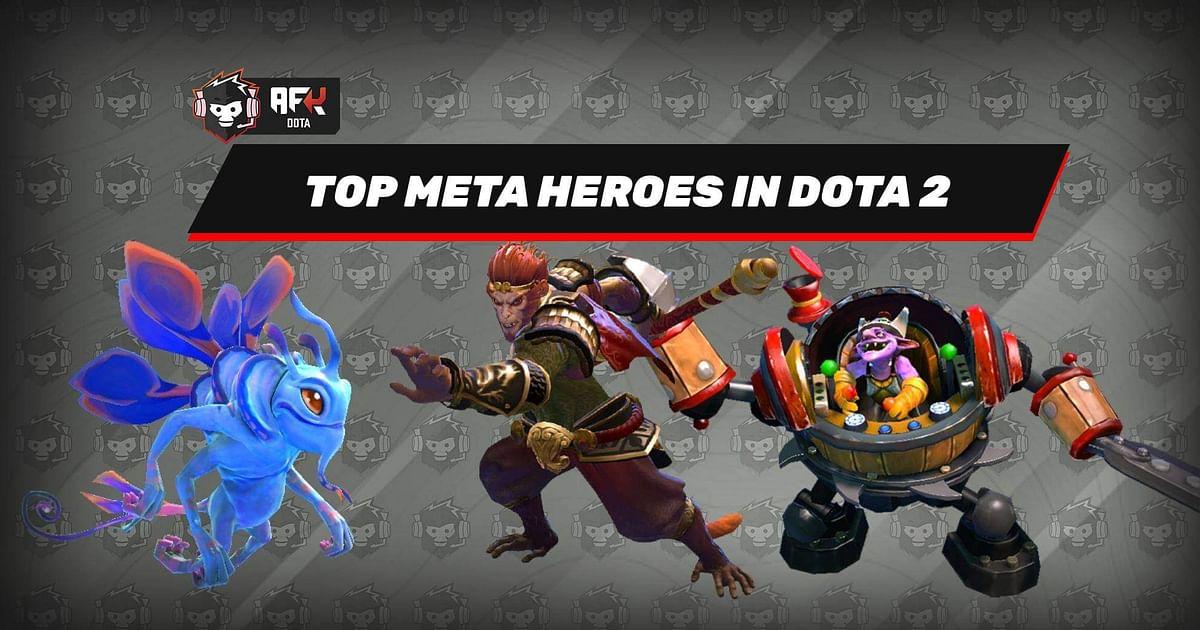 Dota 2 Meta: Top 3 Carries, Midlaners and Offlaners
