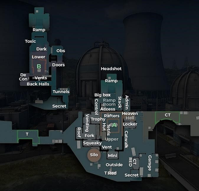 CS:GO Callouts 2021 - Dust 2, Mirage, Vertigo, Nuke, and More