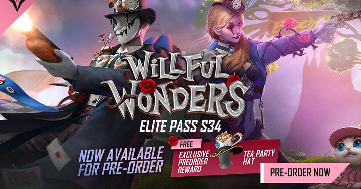 Free Fire Elite Pass Season 34: All We Know