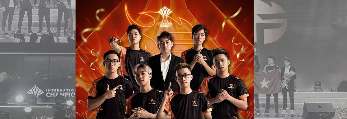 Team Flash Win AIC 2019 - Four Major Trophies in One Year