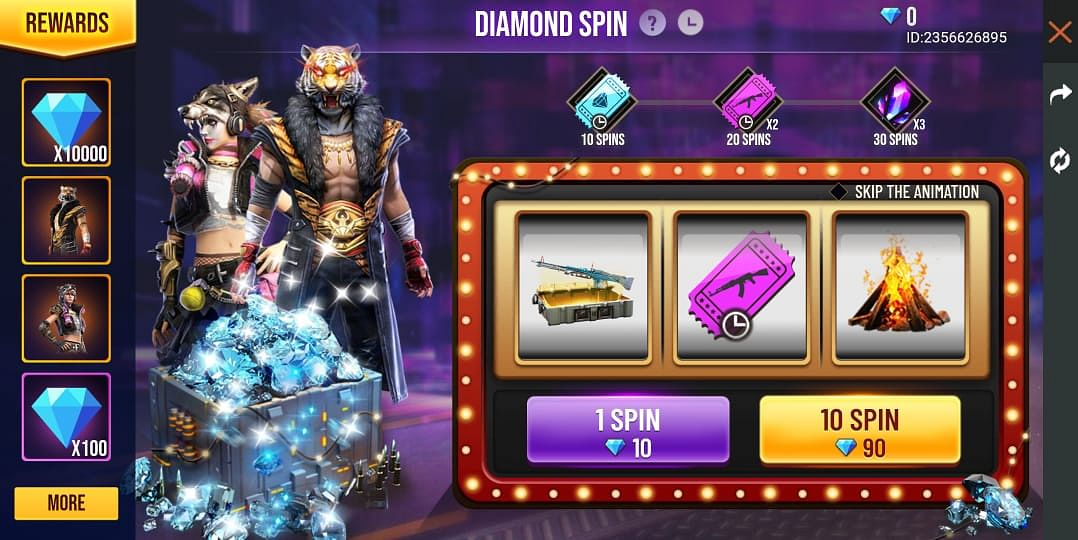How To Get Free Diamonds In Garena Free Fire