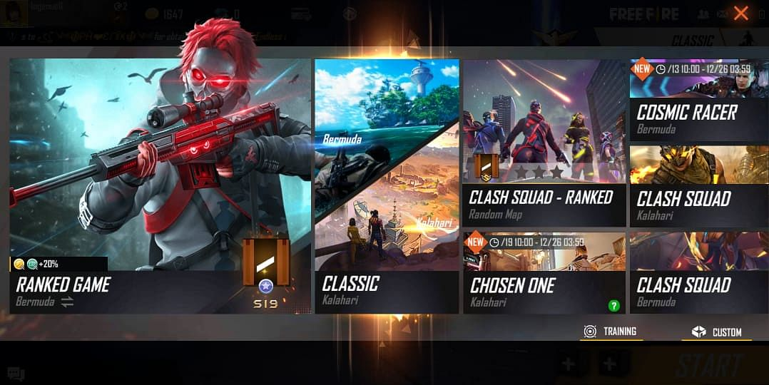 Free Fire Offers Rewards For Its BR Christmas Event