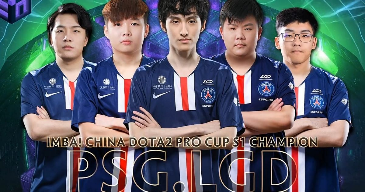 PSG.LGD Dominates the Chinese Region To Win the China Dota 2 Pro Cup S1