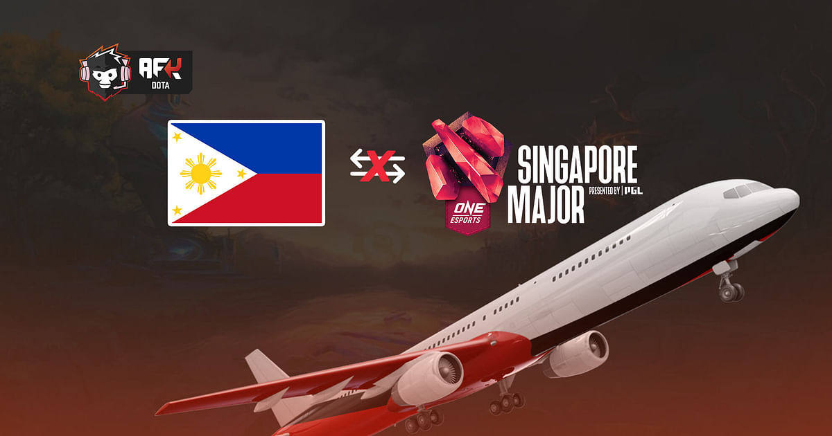 Filipino Dota 2 Players Face Hurdles in Traveling To The Singapore Major