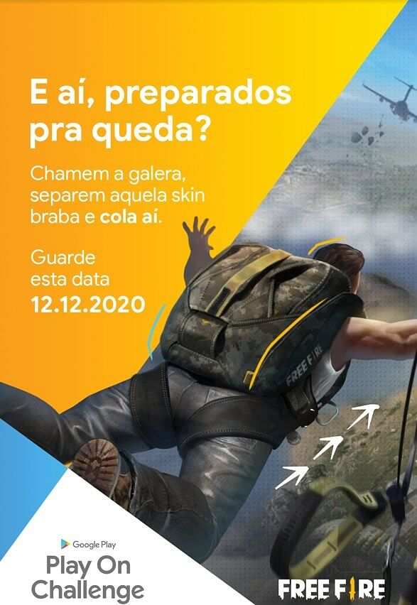 Garena Free Fire Brazil Partners With Google to Host Play On Challenge Event