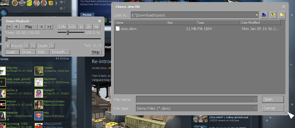 CS:GO Replay Controls for Demo Mode: What Are They, How Do They Work, Detailed Guide