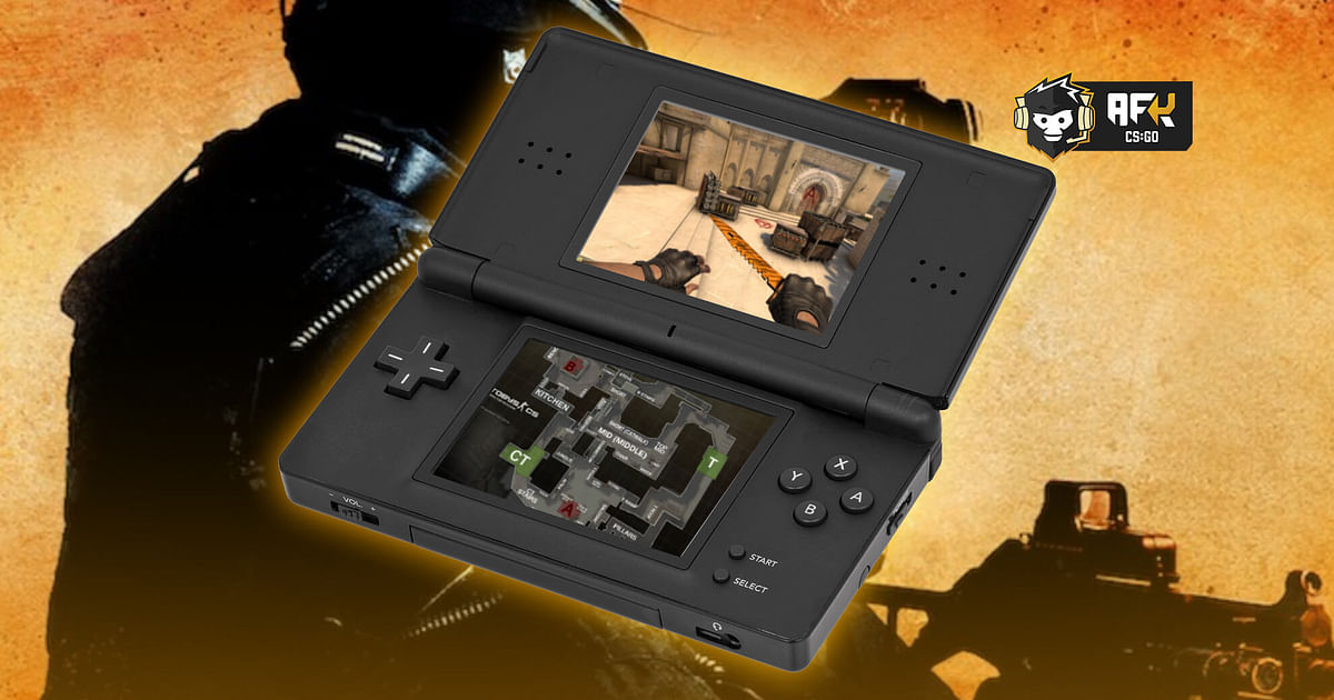 CS:GO User Creates Counter-Strike for Nintendo DS, Shows Gameplay on Dust 2