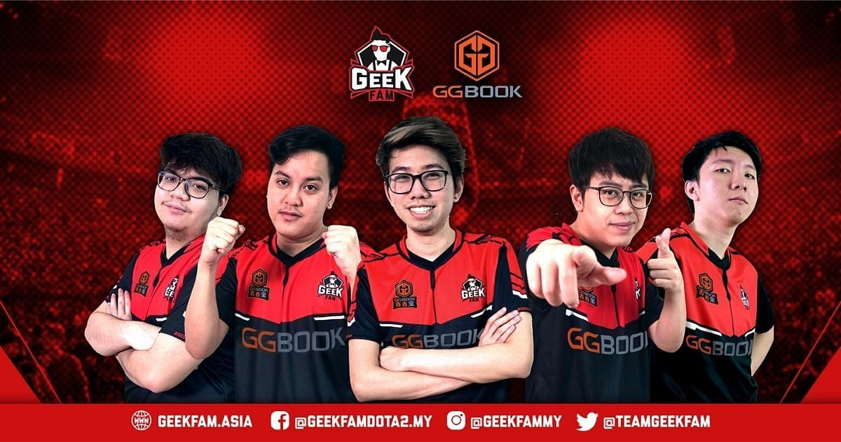 Geek Fam Releases Its Dota 2 Roster