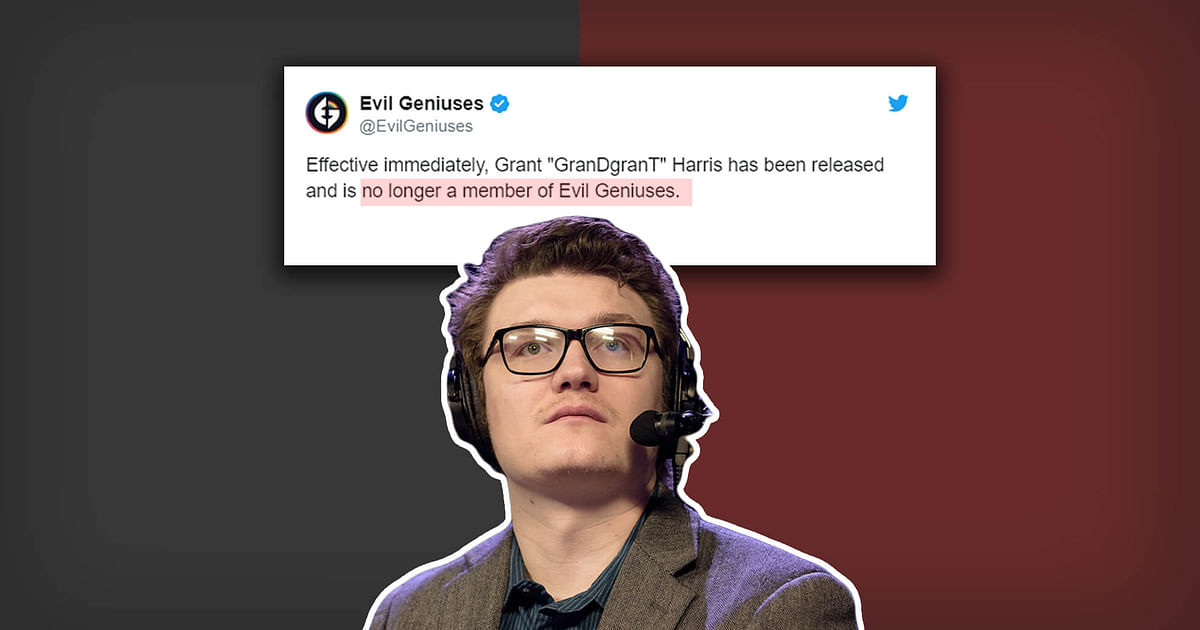 GrandGrant Leaves Dota 2 And Esports, Removed From EG After Sexual Harassment Accusations
