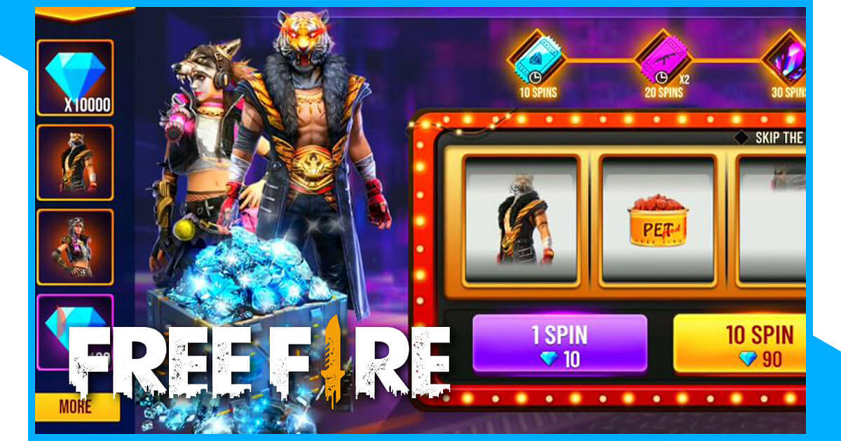 Free Fire: Win big with 10k Diamond Spin Event