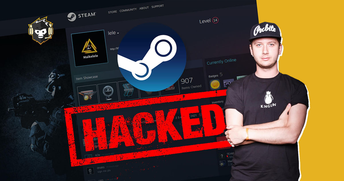 CS:GO Pro Maikelele's Steam Account Hacked Despite Steam Guard Being Enabled