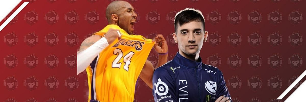 Arteezy Pays Tribute to Kobe Bryant with His Jersey?