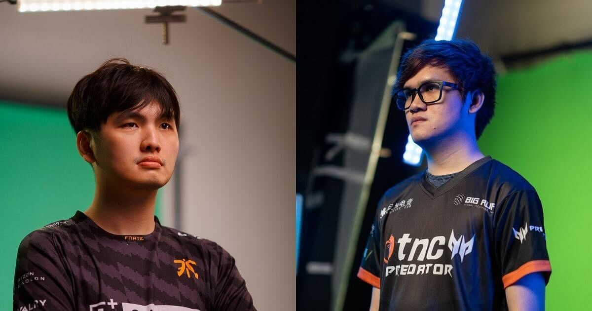iceiceice And eyyou Depart From Fnatic