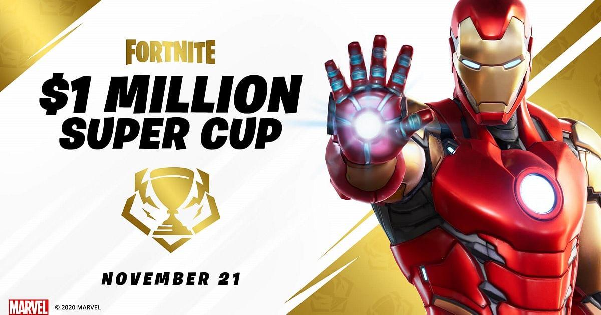 Fortnite Announces $1 Million Marvel Super Cup