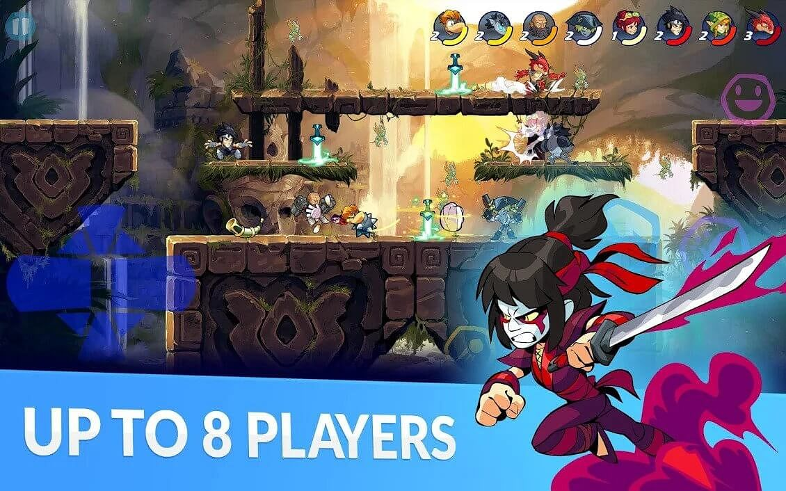 Fighting Game Brawlhalla Releasing For Mobiles On August 6