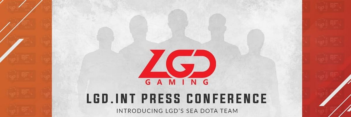 LGD Gaming to announce a Southeast Asian Dota 2 team