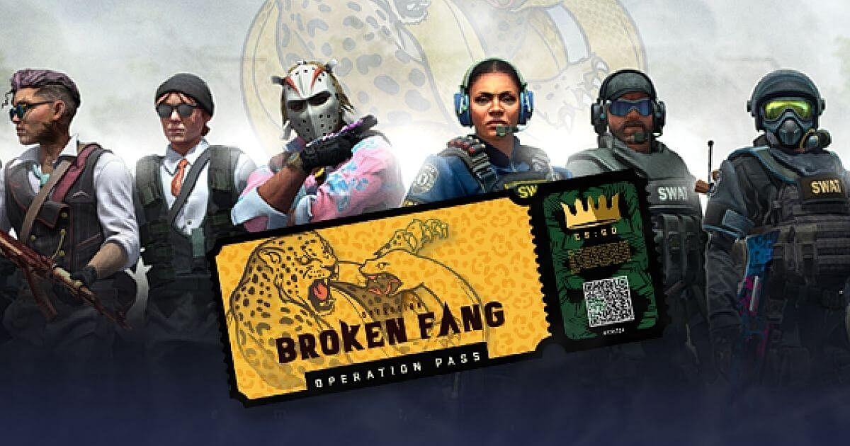 CS:GO Operation 10: Broken Fang Released