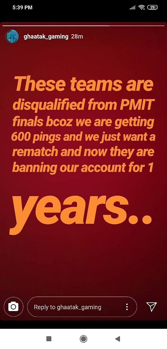 PUBG Mobile - PMIT Pune Group C Finals players threaten walkout; issues and delays resolved as games resume