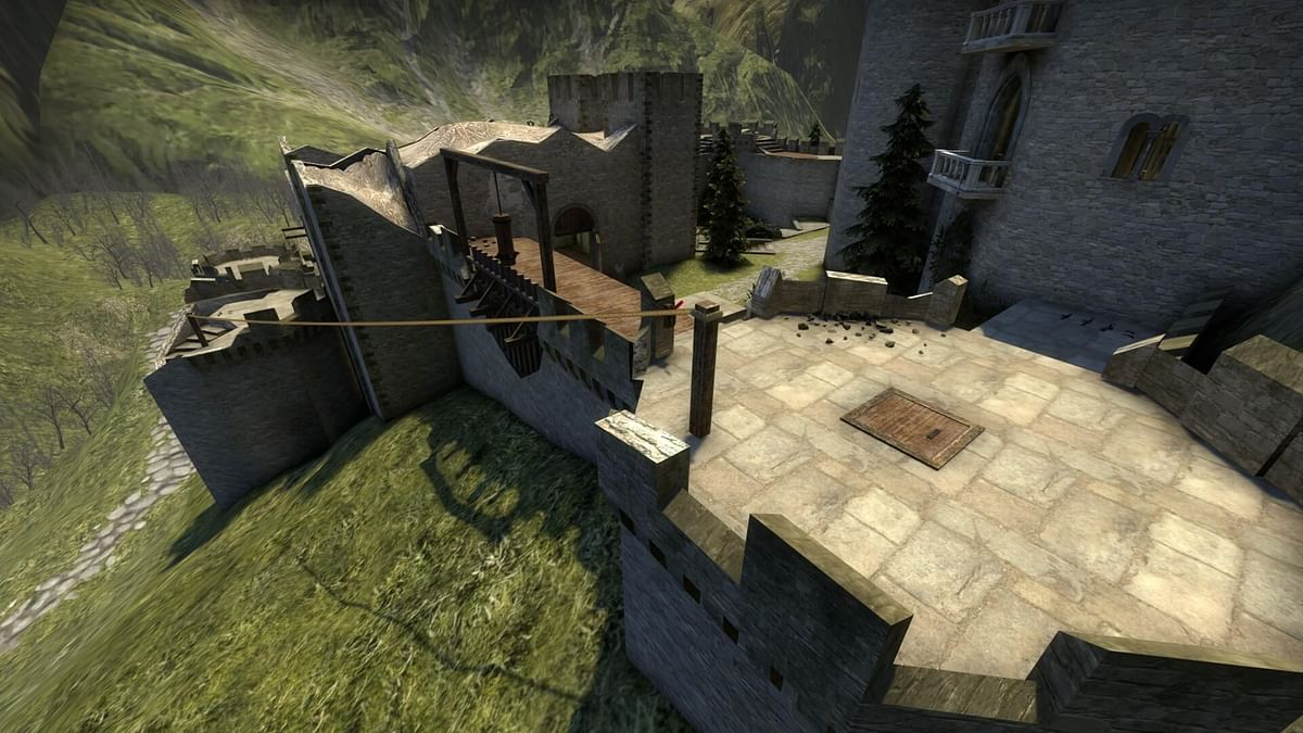 User Recreates Kaer Morhen Fortress From The Witcher as CS:GO Map