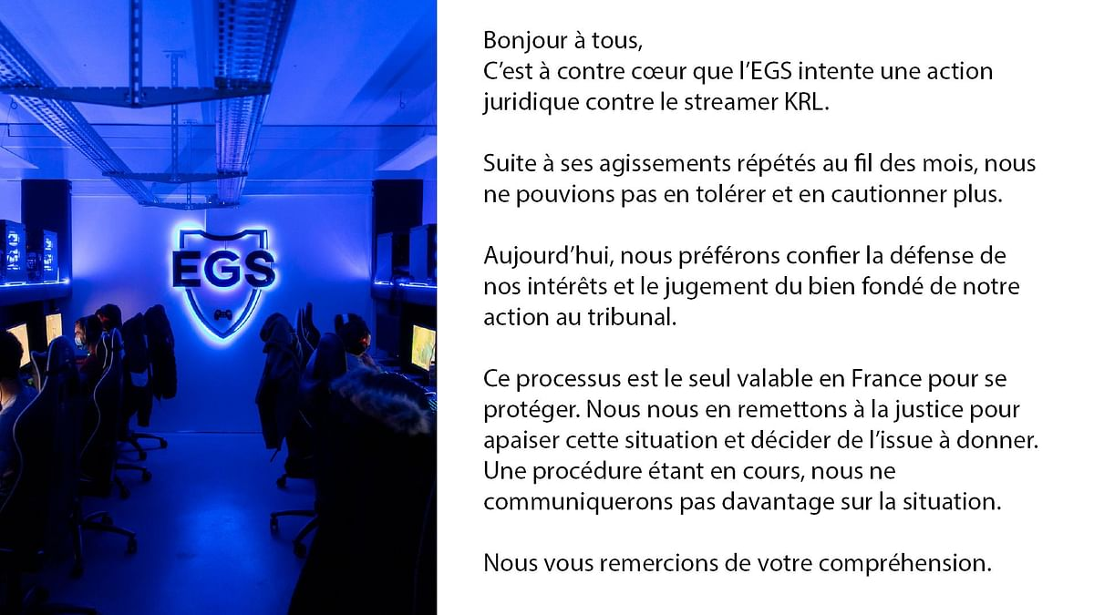 French CS:GO Twitch Streamer Sued For $250,000 by Gaming School