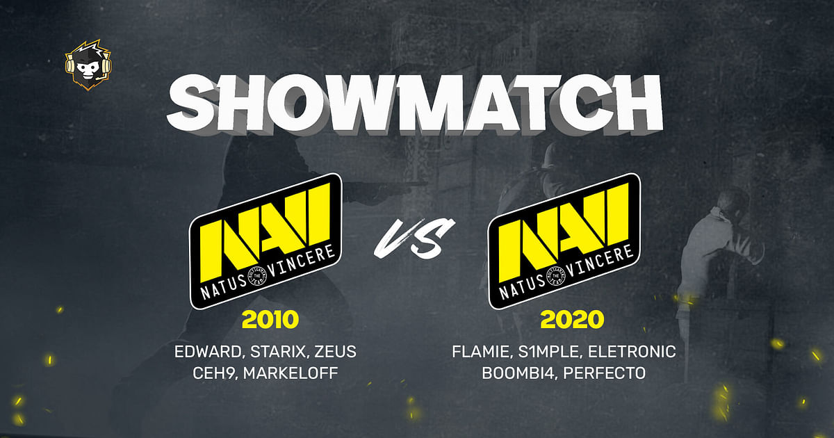 Na'Vi 1.6 (2010) Lineup to Face Current Team in a CS:GO Showmatch