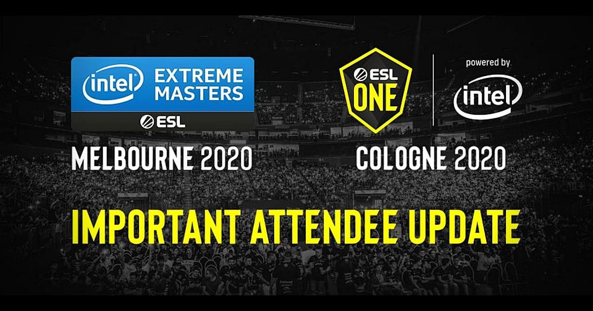 ESL One Cologne 2020 to take Place Without a Live Audience; IEM Melbourne 2020 Postponed to 2021