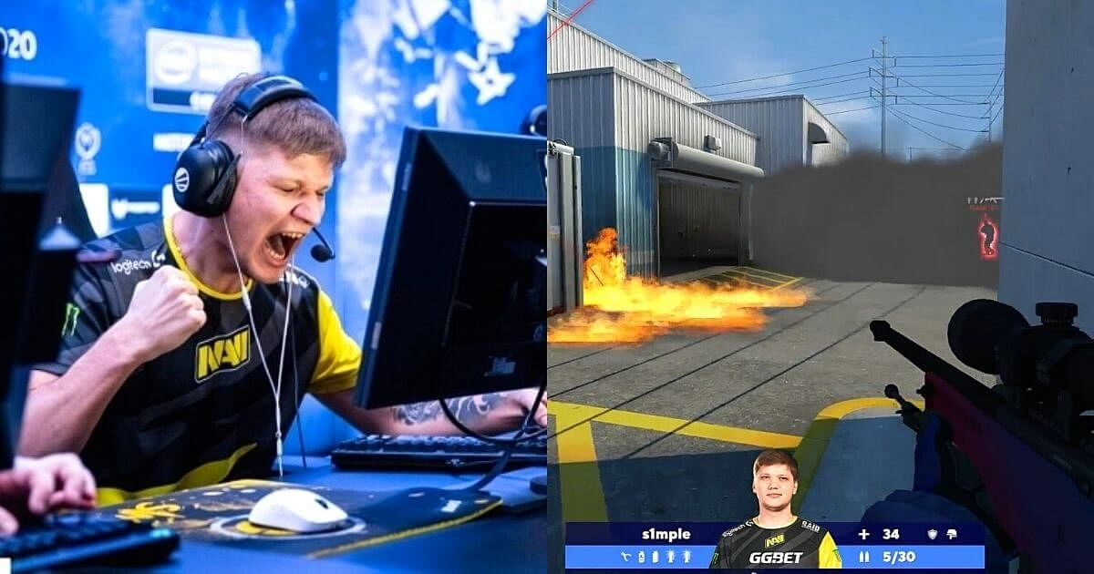 [Watch] S1mple Hits Impossible Flick With an AWP Against Liquid
