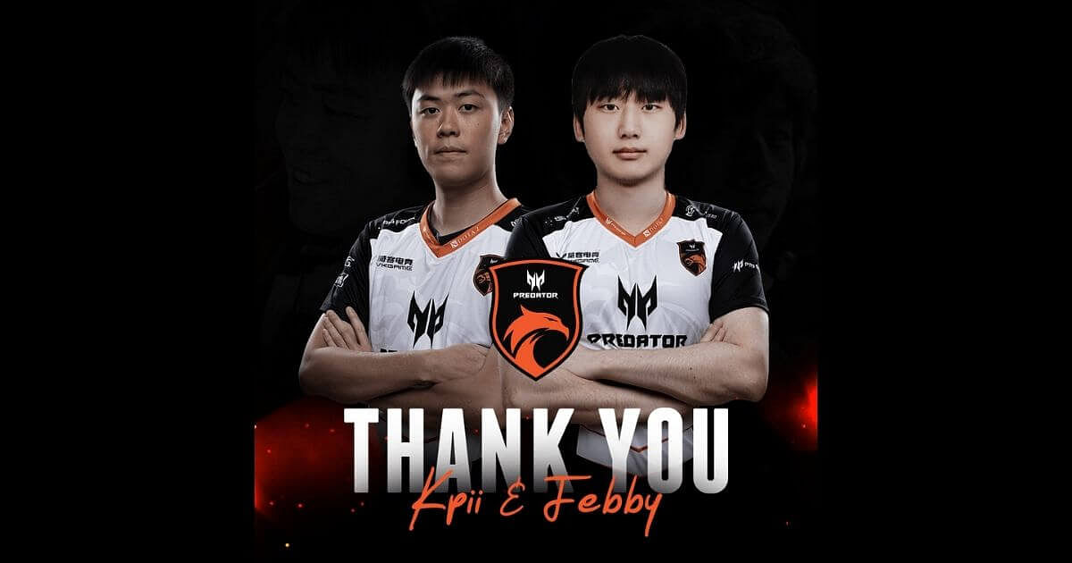 TNC Predator Release Febby and Kpii From Their Roster