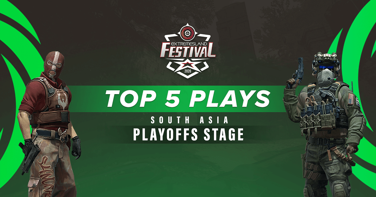 Top 5 Plays From ZOWIE eXTREMESLAND CS:GO Festival 2020: South Asia