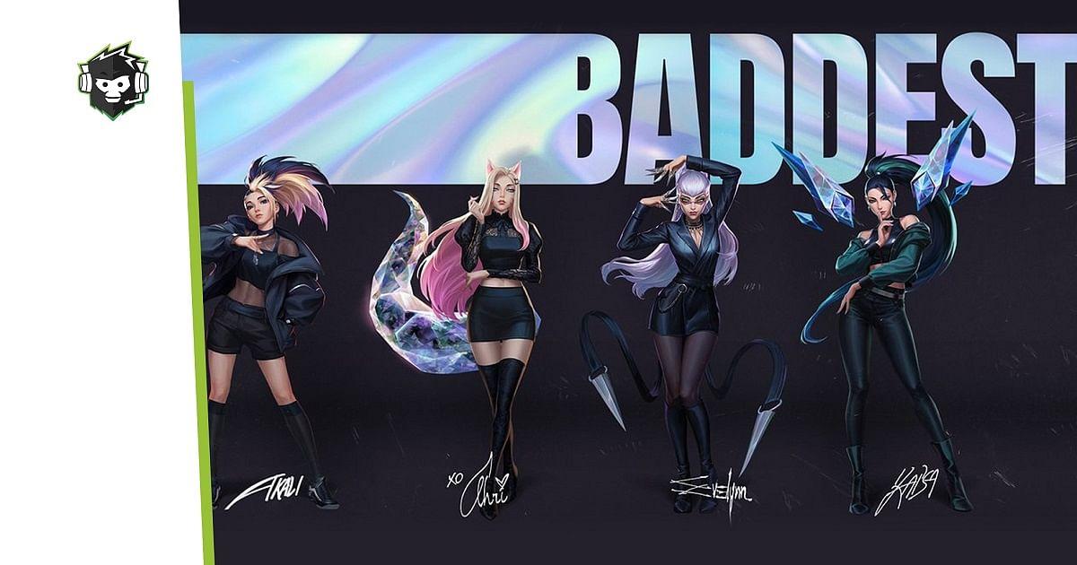 "LoL Virtual Band K/DA's new single, ""THE BADDEST,"" Goes Live"
