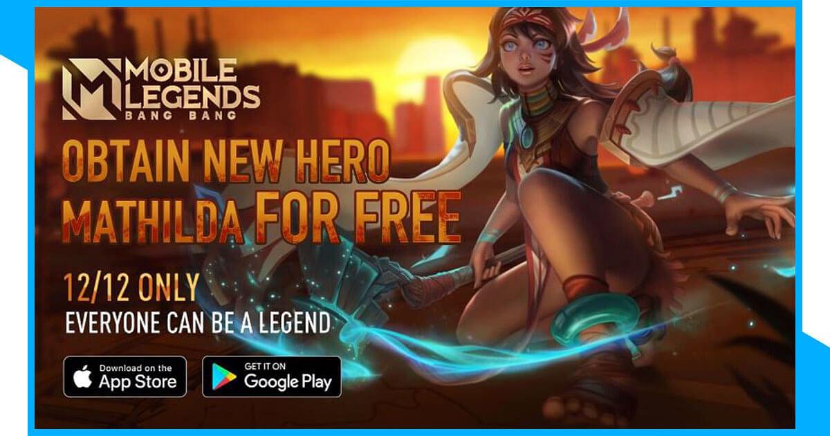 MLBB New Hero Mathilda Obtainable for Free this December