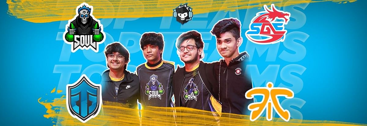 Ranking The Top  Indian PUBG Mobile Teams of 2019